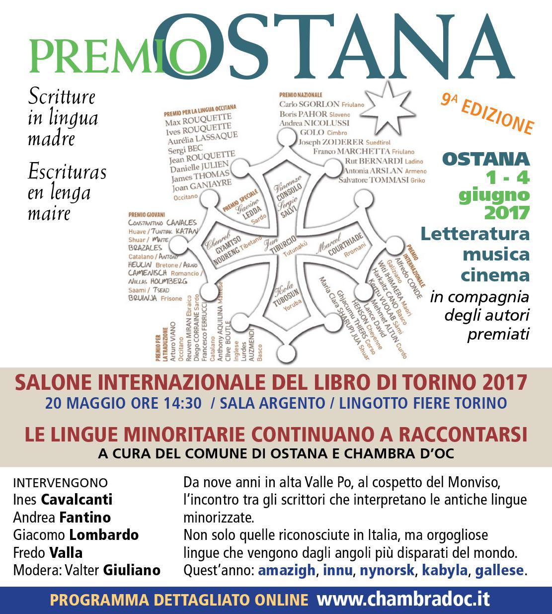 lingue minoritarie al salone del libro 2017