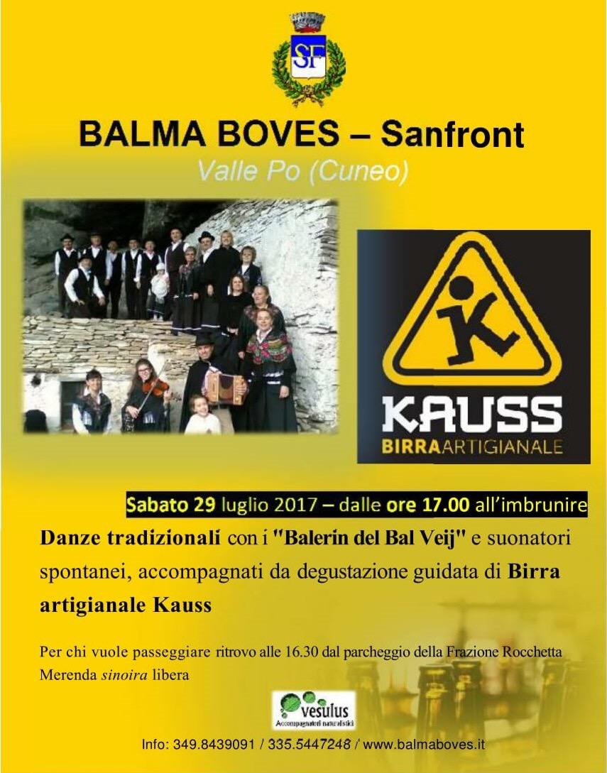 Balma Boves 29 luglio 2017