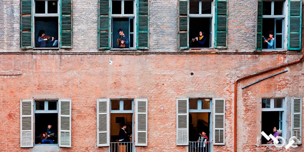 Foto Scuola APM finestre