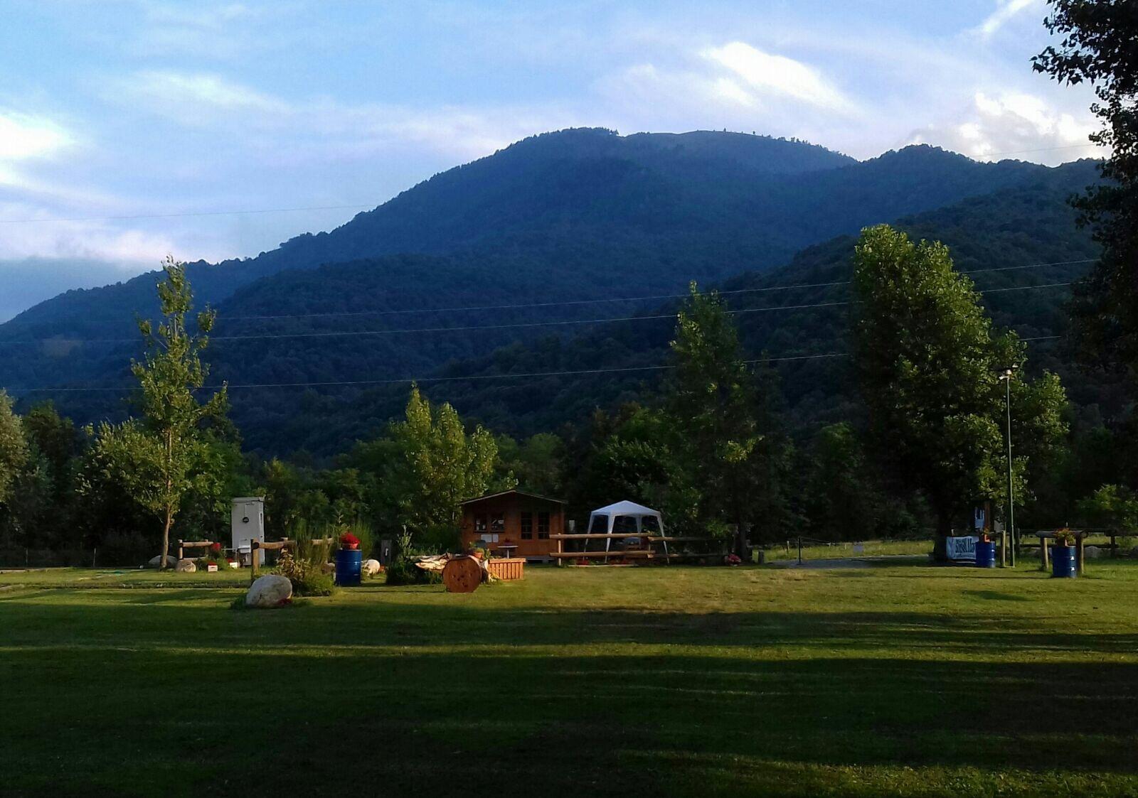 area sosta camper Paesana Un Po di sosta ai piedi del Monviso