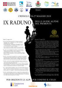 IX RADUNO GUIDE ALPINE DEL PIEMONTE