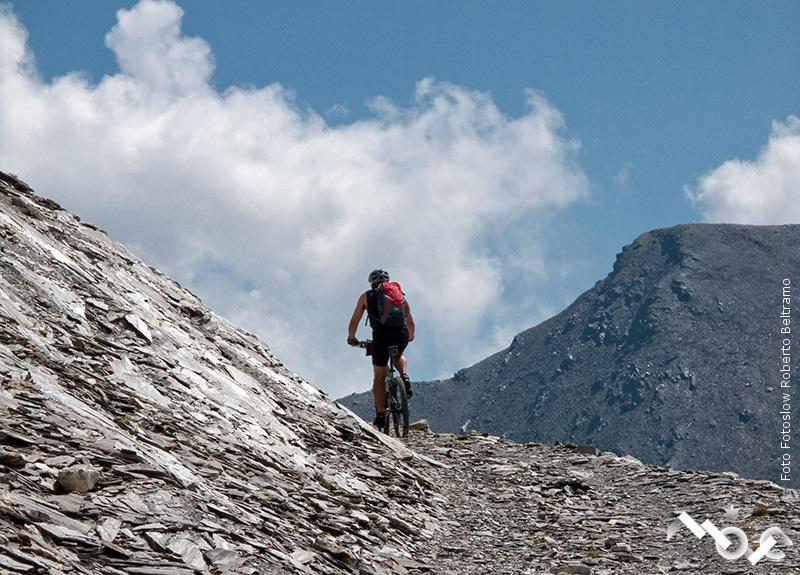 MTB rifugio Carmagnola e monte Bellino
