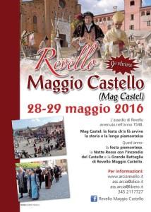Revello Maggio Castello locandina16