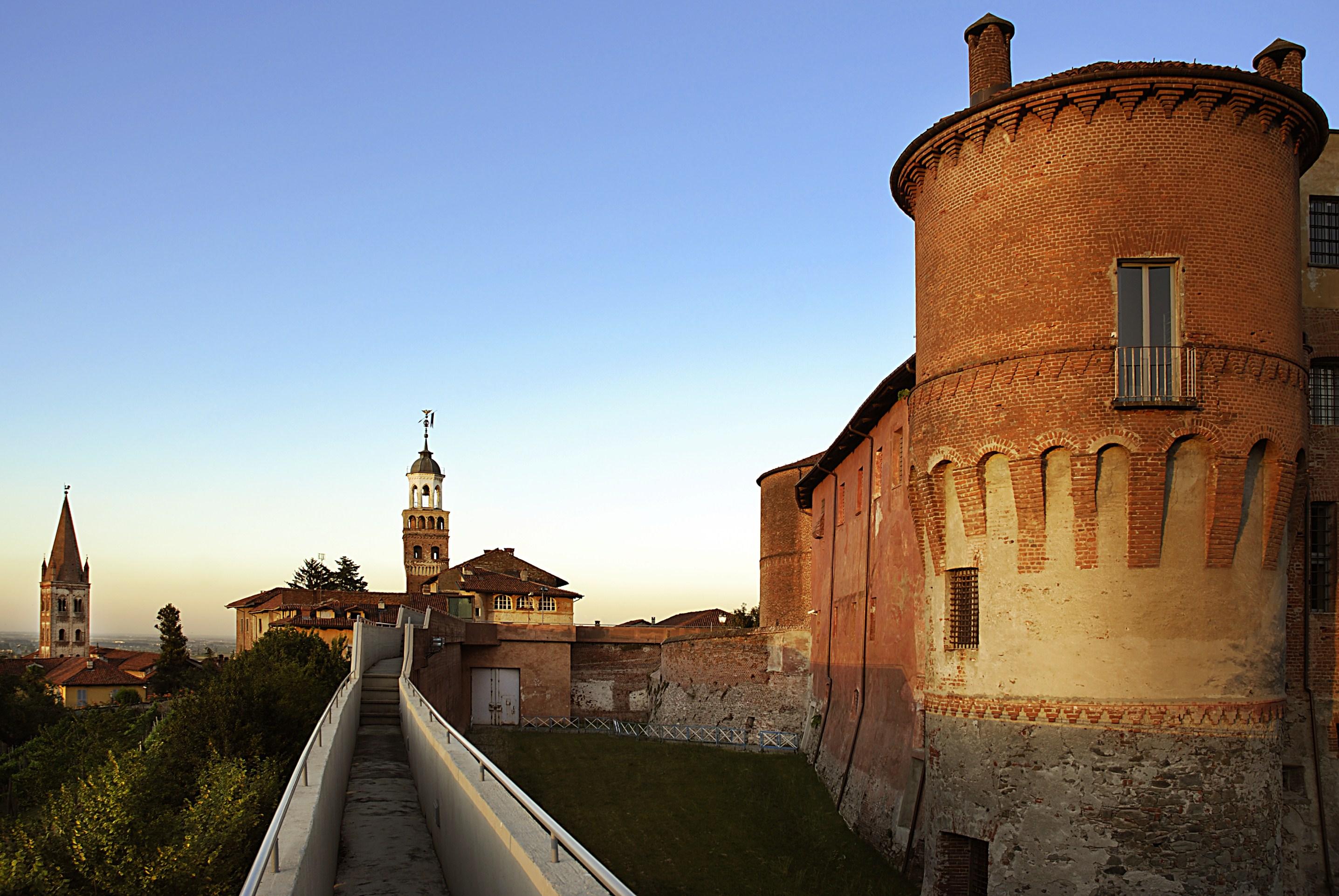 Saluzzo, la Castiglia, castello Marchesi di Saluzzo (Foto M. Bruckmanns)