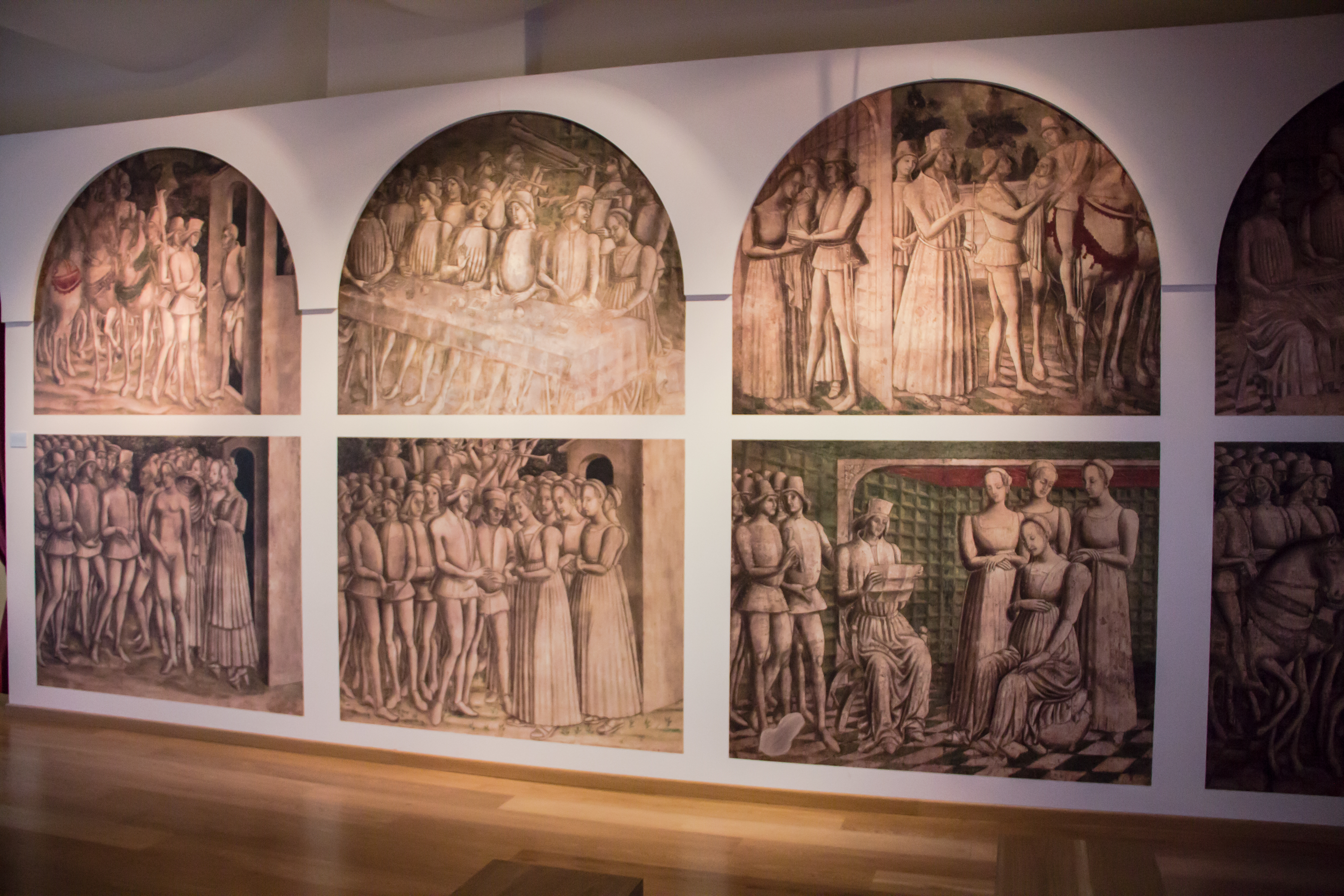 a.r. Saluzzo, Museo Civiltà Cavalleresca, Sala Griselda