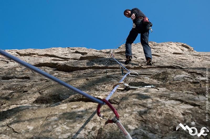 arrampicare in valle Maira