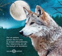 """Copertina del libro """"La luna è dei lupi"""""""