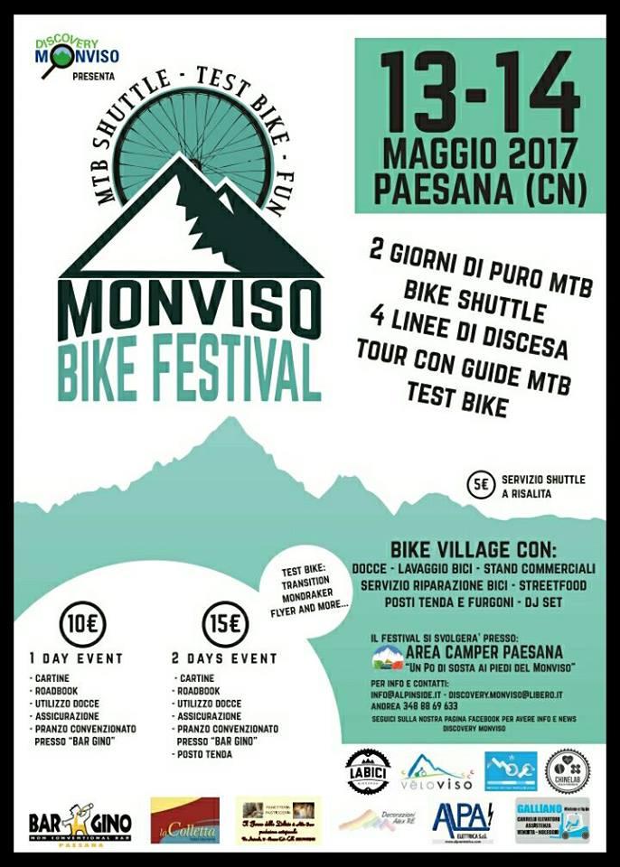 monviso bike festival 13 e 14 maggio 2017 paesana valle po