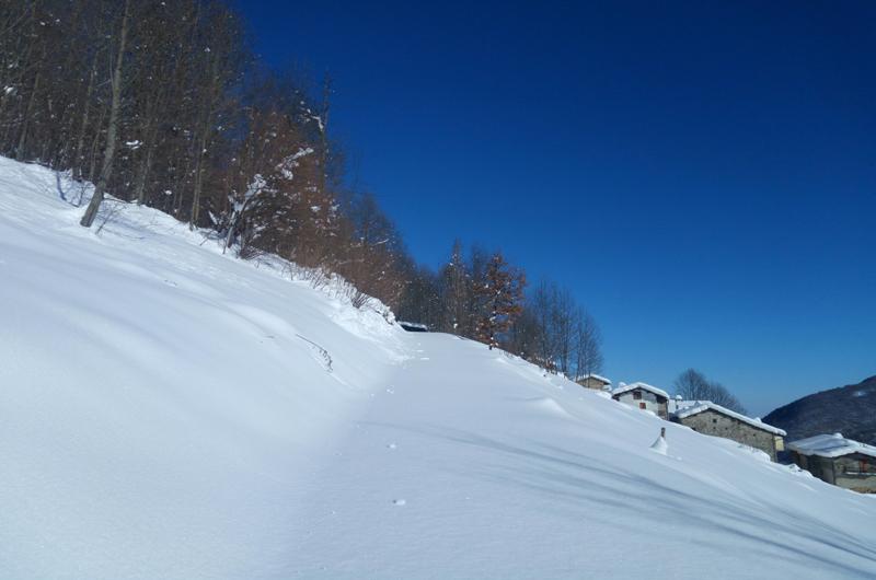vesulus 21 gennaio valle del lenta valle po