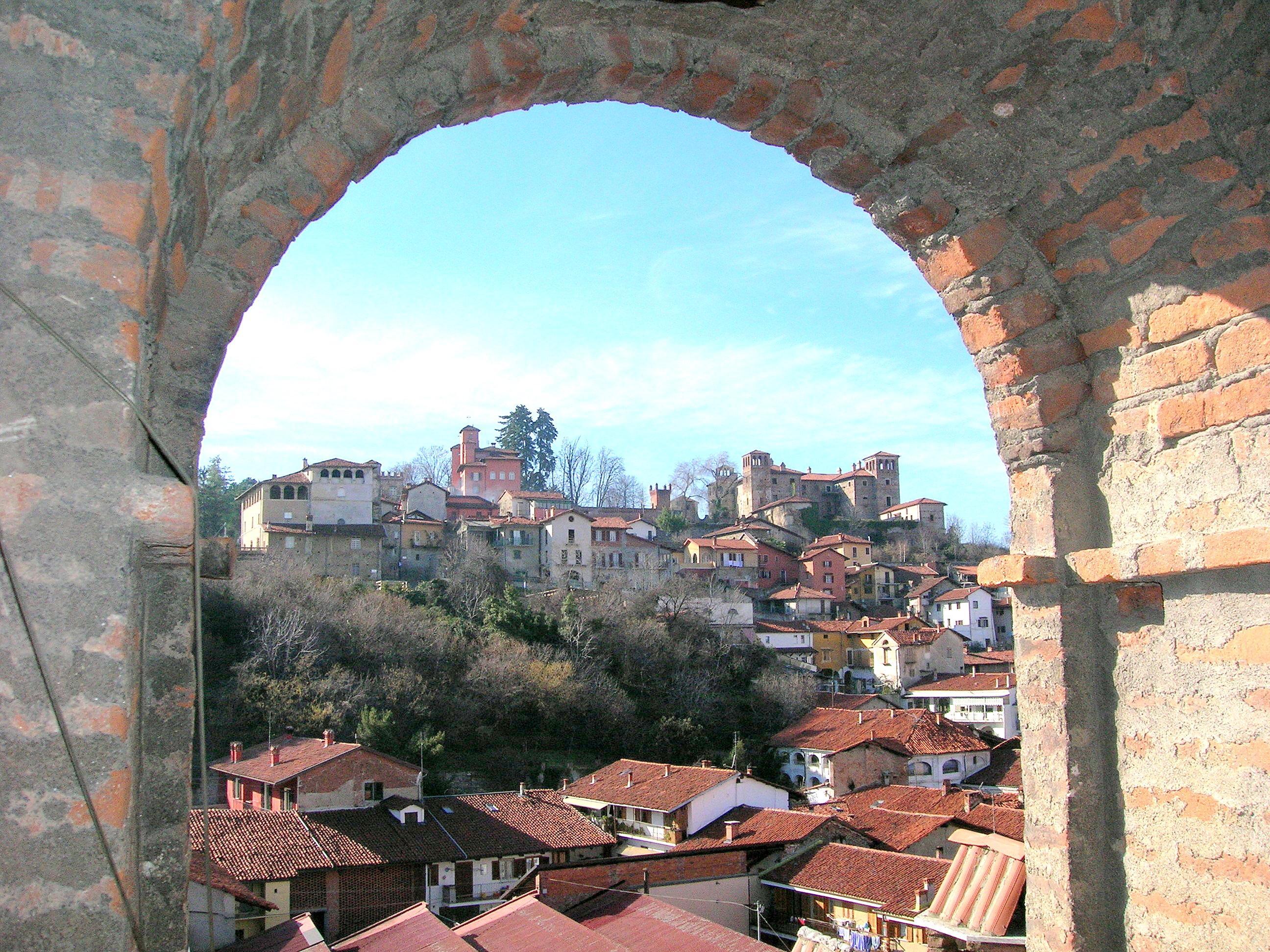 vista sul borgo medioevale